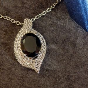 Thai Black Spinel Crystal Necklace for Sale in Pompano Beach, FL