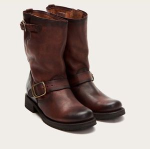 Veronica FRYE Boot in Redwood Rugged Leather (Women's, 8) for Sale in Washington, DC