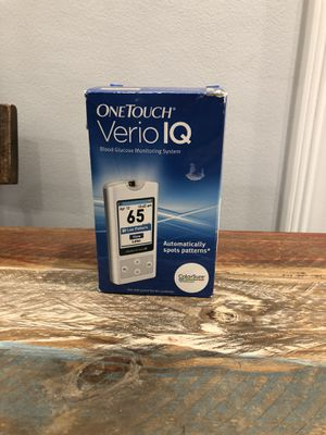 One Touch Verio IQ - Blood Glucose Monitoring System for Sale in Bedford Park, IL