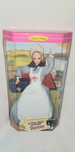 CIVIL WAR NURSE 1995 BARBIE NEW IN BOX for Sale in Las Vegas, NV