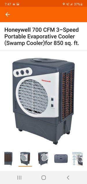 Honeywell evaporative cooler 850 sq.ft for Sale in Stockton, CA