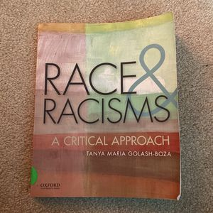 Race & Racism: A critical approacg for Sale in Fontana, CA