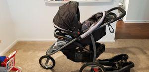 Graco click connect jogging stroller car seat combo for Sale in Manassas, VA