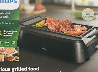 New In Box Philips Smoke Less Indoor BBQ Grill for Sale in North Tustin,  CA