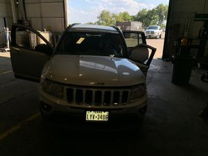 2011 Jeep Compass 2012 2013 2014 2015 2016 Hood Bumper Fender Headlight Tail light Mirror Engine Transmission Seat Wheel Rim Trunk Lid Glass Parts for Sale in Dallas, TX