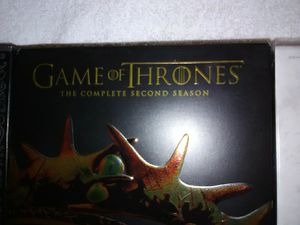 Game of thrones on DVD's Season 1 through 4 for Sale in Canyon Lake, CA