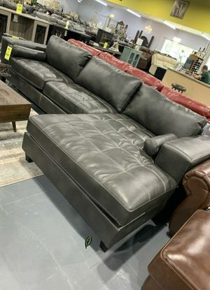 ⚓⚓Best OFFER ⚓ $39 Down Payment  Nokomis Charcoal LAF Sectional 255 for Sale in Jessup, MD