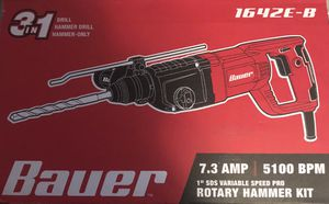 Bauer Rotary Hammer Kit BRAND NEW never used for Sale in Antioch, CA