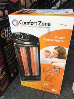 Comfort Zone Quartz Radiant Heater for Sale in Stanton,  CA