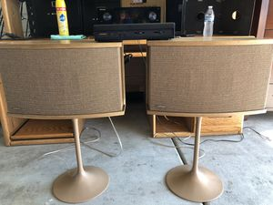 Bose 901's Speakers with stands & Active Equalizer for Sale in Chula Vista, CA
