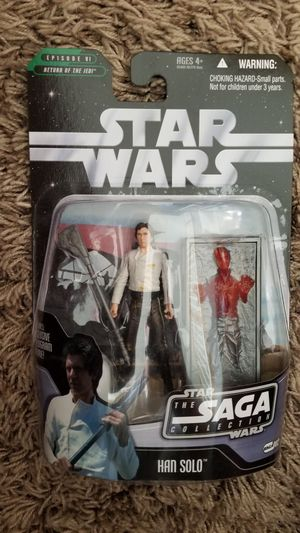 2006 Hasbro Star Wars Saga Collection #002 Han Solo Action Figure for Sale in Warrington, PA