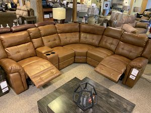 BRAND NEW 8.5'x9.5' power reclining sectional w/USB chargers for Sale in Baldwin, PA