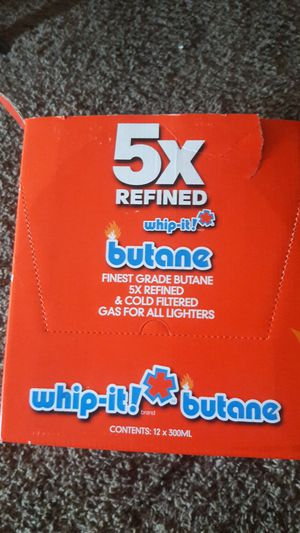 Whip-it butane 12 x300ml for Sale in San Leandro, CA