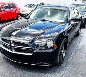 2014 Dodge Charger All Black with low miles $1400 Down Approval Based on Income for Sale in Atlanta, GA