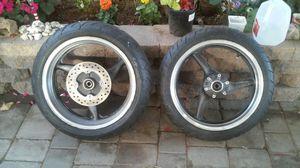 Honda street bike rims & tires for Sale in Vallejo, CA