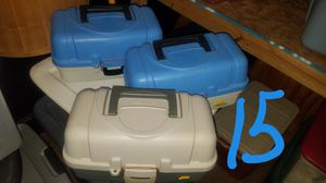 Tackle box with tackle for Sale in Elizabethton, TN