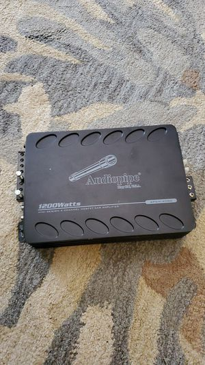 Audiopipe amp for Sale in Brentwood, NC