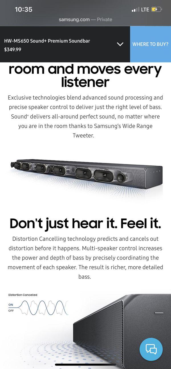 SAMSUNG - Sound+ 3-Channel Hi-Res Soundbar with Built-in Subwoofer