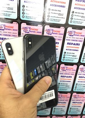 iPhone X (64GB , 256GB ) | Unlocked 🔓| 30 Days warranty✅ | All colors Available ❗️| Like New for Sale in Tampa, FL