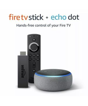 Fire stick tv + eco dot 3rd generation for Sale in Orlando, FL