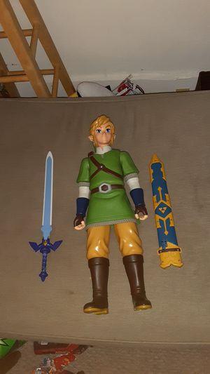Link from legend of zelda action figure. for Sale in Warwick, RI