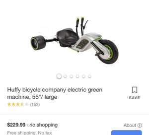 Huffy Bicycle Electric Green Machine for Sale in El Cajon, CA