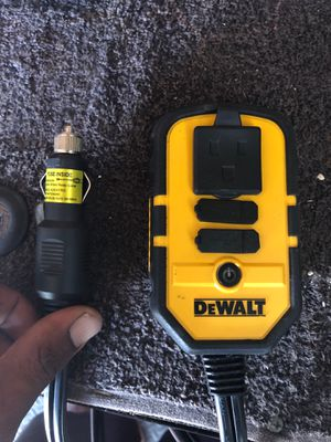 DeWalt 200w power inverter for Sale in Hollywood, FL
