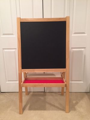 Chalkboard/Whiteboard/Painting Easel For Kids for Sale in Alexandria, VA