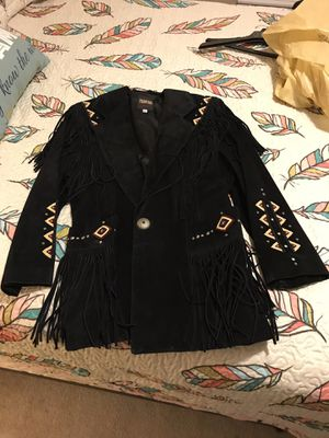 Fringe Leather Jacket for Sale in Snow Camp, NC