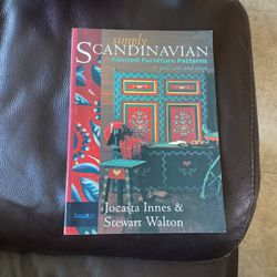 Simply Scandinavian - Painted Furniture Patterns To Pull Out And Trace for Sale in Alameda,  CA