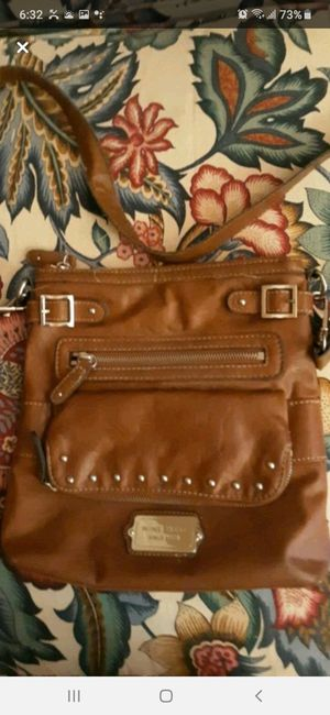 Nine west brown leather purse for Sale in Southbridge, MA