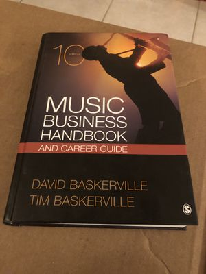 Music Business Handbook and Career Guide by David Baskerville and Tim... for Sale in Miami, FL