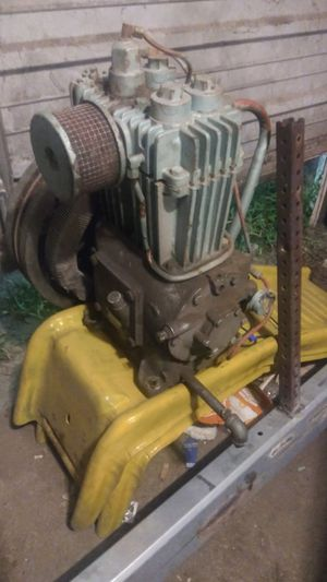 Big quincy compressor belt driven for Sale in River Rouge, MI