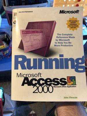Microsoft Access 2000 for Sale in Redmond, WA