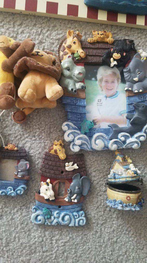 Noah's arc decorations nursery