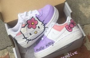 Custom hello kitty Af1 toddler for Sale in Huntingtown, MD
