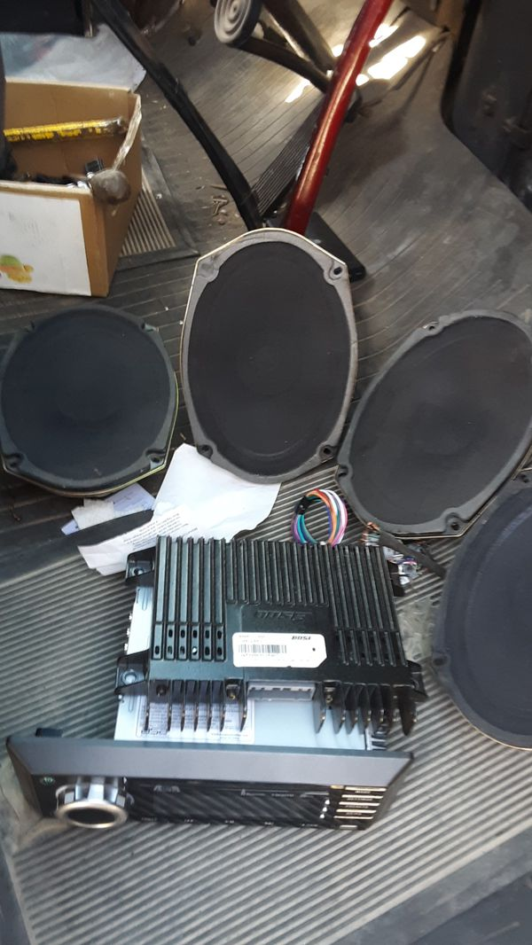 Jensen in dash 4 Boston acoustic 6×9's Bose amp and sub
