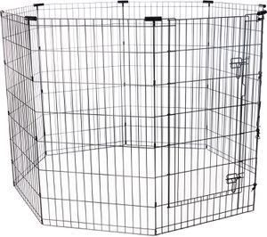 "Frisco Black Exercise Pen with Door 42"" Tall for Sale in Falls Church, VA"