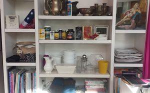 XL Bookshelf Solid Wood Custom Shelving w/Storage for Sale in San Diego, CA