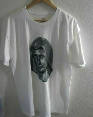 Diamond Clothing Virgin Mary t shirt men size large for Sale in March Air Reserve Base, CA