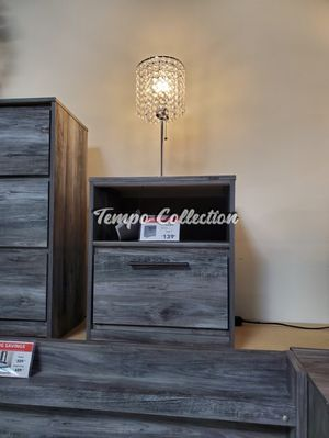 Nightstand with USB Port, Grey, SKU# ASHB221-91TC for Sale in Norwalk, CA