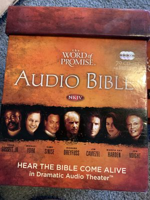 The Word of Promise, NKJV--Complete Bible on CD for Sale in Fremont, CA