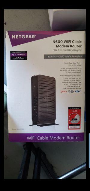 Fast Modem & Router - Netgear N600 for Sale in Las Vegas, NV