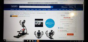 Nordictrack elite 13.1 elliptical for Sale in City of Industry, CA