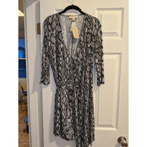 Michael Kors Snake Print Wrap Dress for Sale in Boston, MA