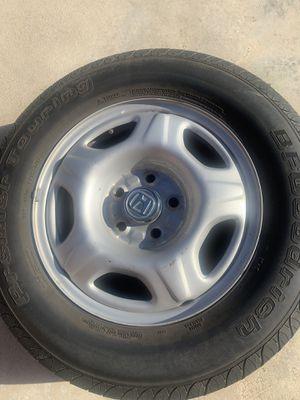 Rim with tire 16 $40 for Sale in Montebello, CA