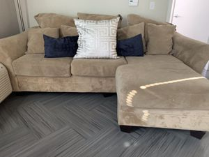 Microfiber couch for Sale in Denver, CO