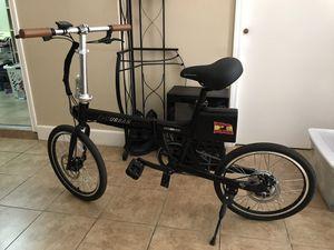 Ebike evourban folding bike for Sale in San Antonio, TX