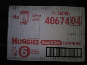 10 cases of huggies for Sale in Brooklyn, MD