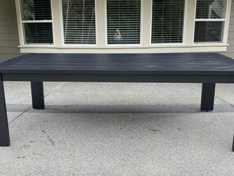 Restoration Hardware Black Aegean Table Brand New for Sale in Snohomish,  WA